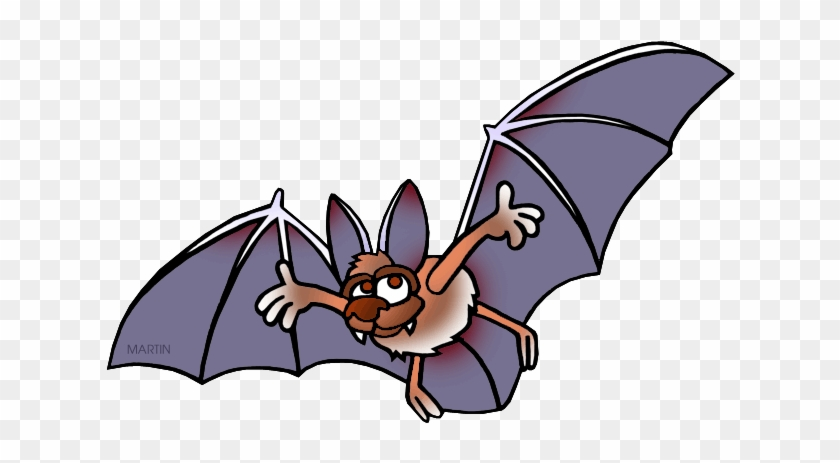 Free Clip Art By Phillip Martin - Big Bat Clipart #354006