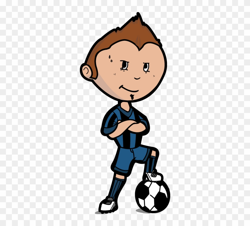 Kids Playing Soccer Free Cartoon Images Photoelsoarcom Profvoetballer Cartoon Free Transparent Png Clipart Images Download