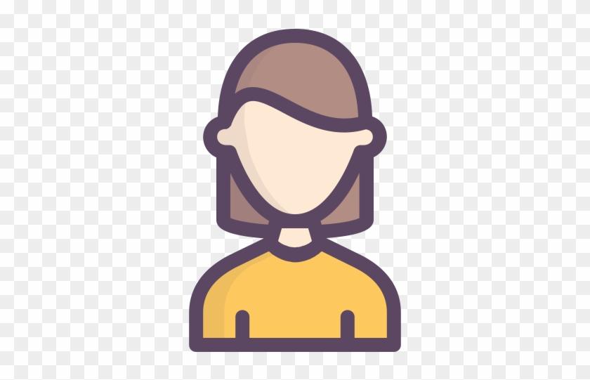 Girl, Person, Woman, People Icon - Profile Woman Icon #354437