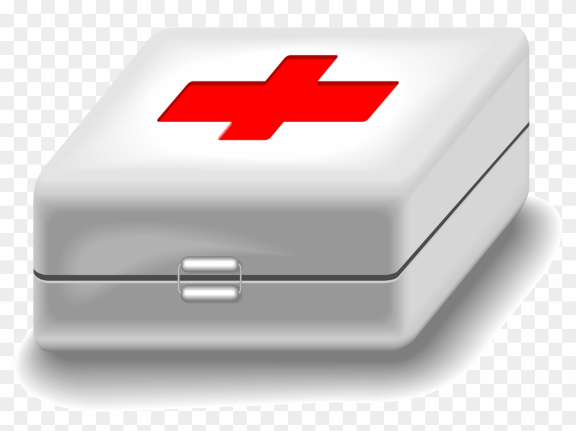 Medical Kit Clipart - First Aid Kit Animated #354469