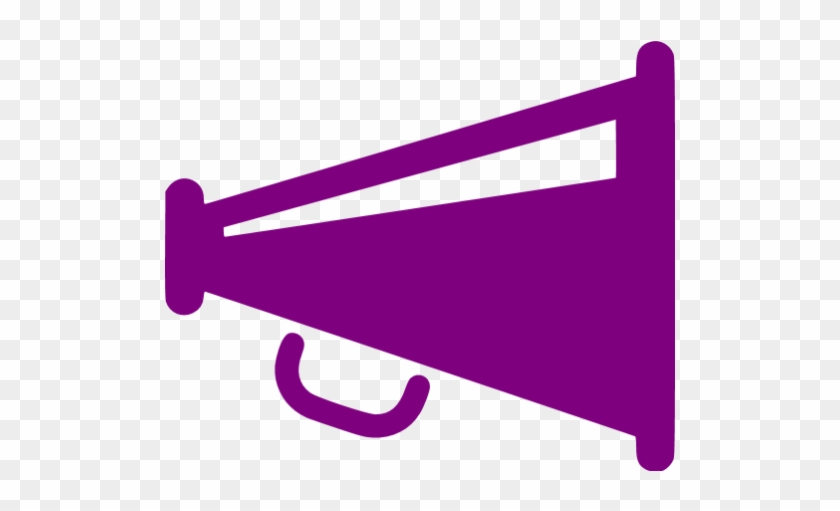 Purple Clipart Megaphone - Megaphone Icon Grey #354641