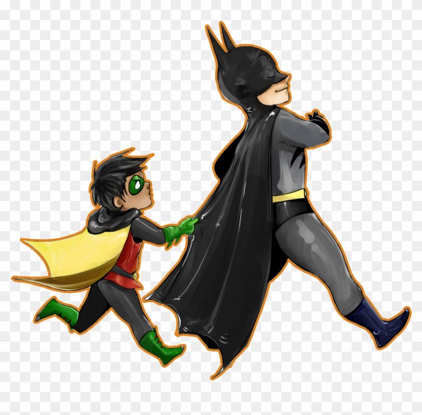 Robin Clipart Transparent - Batman And Robin Png #354818
