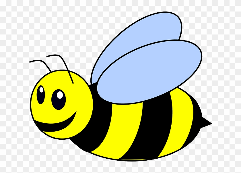 Bee, Sting, Honey Bee, Wings - Bumble Bee Clip Art - Free