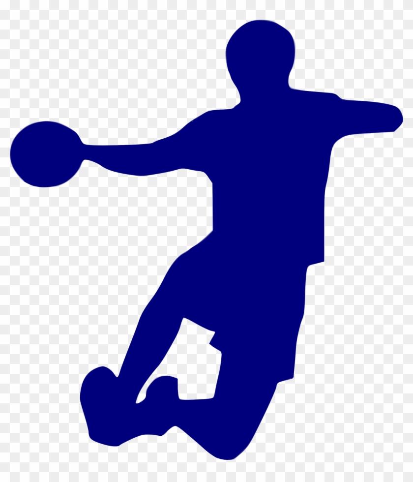 silhouette handball 23 handball icon