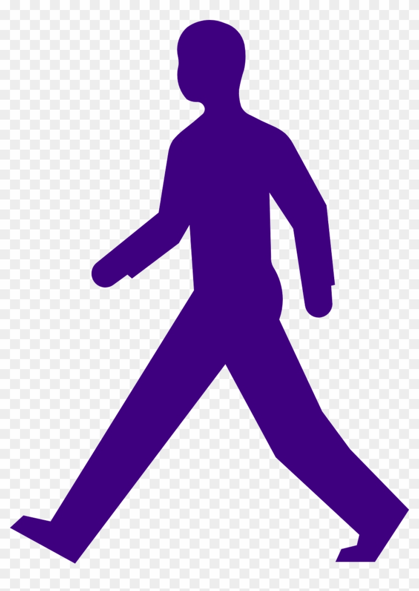 man walking purple silhouette png image pedestrian clipart free rh clipartmax com stick person walking clipart person walking clipart