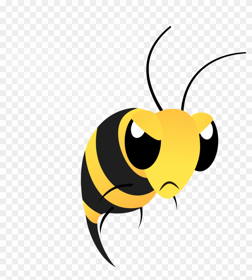 mean bee clipart clipartxtras angry bees clipart 355539