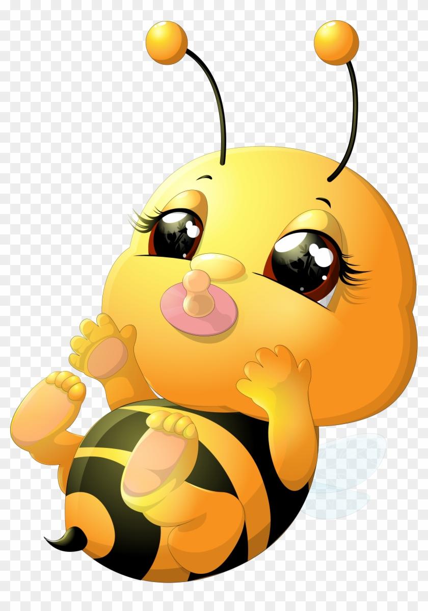 Beehive Honey Bee - Bumble Bee Cartoon Baby - Free Transparent PNG ...