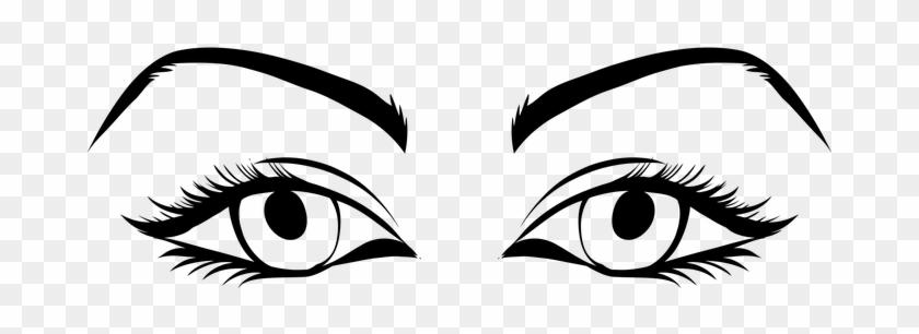 Eyes Female Game Asset Call Woman Women Ey - Human Eyes Clip Art #355738