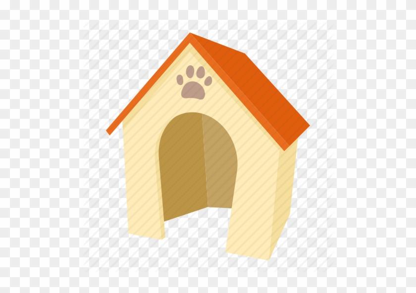 Cartoon, Dog, Dog House, Door, Home, Kennel, Pet Icon - Dog