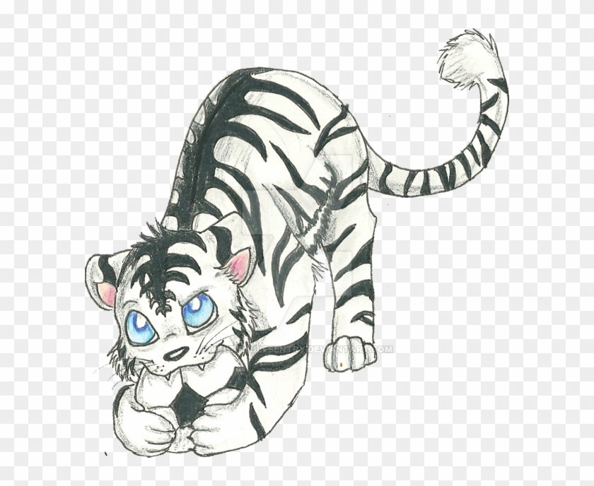 Chibi Soccer Tiger By Whitewolfsentry On Deviantart - Anime Tiger Drawings #356032