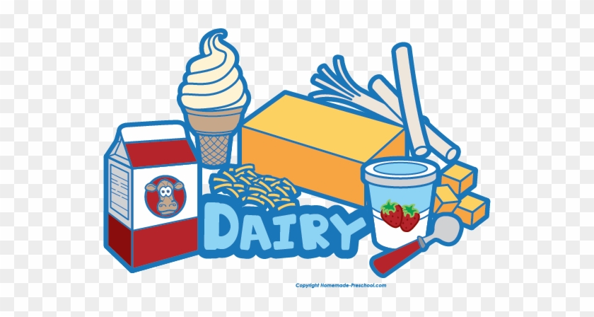 Click To Save Image - Dairy Food Group Clipart #356153