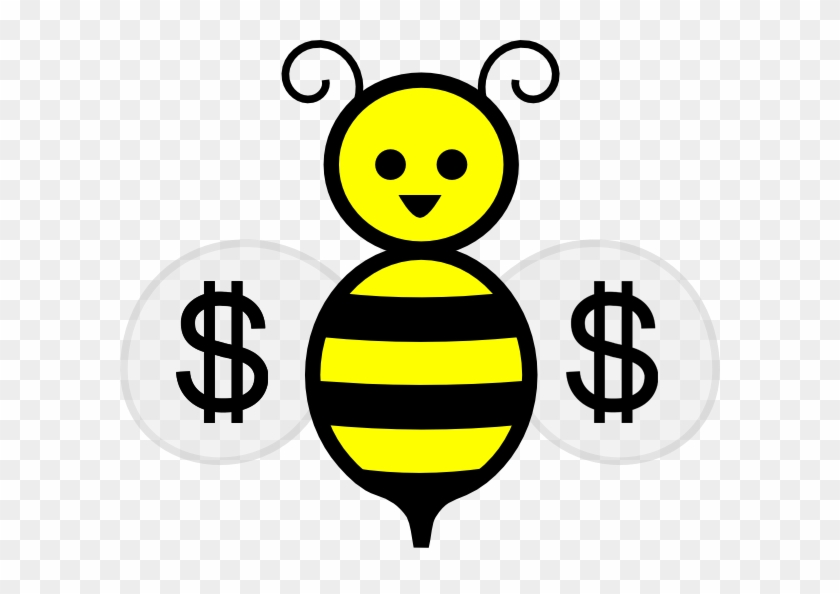 2016 03 Bees Money - Honey Bee Clip Art #356421