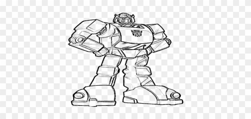Optimus Prime Bumble Bee Transformer Coloring Page Bumble Bee