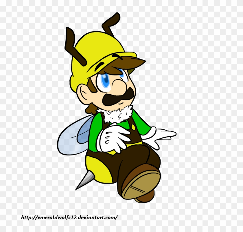 Luigi mariobrosyaoifan12. Bee by mariobrosyaoifan cartoon