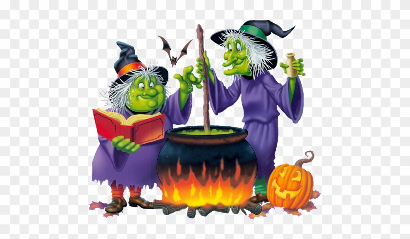 Halloween Witches Animated Halloween Free Transparent