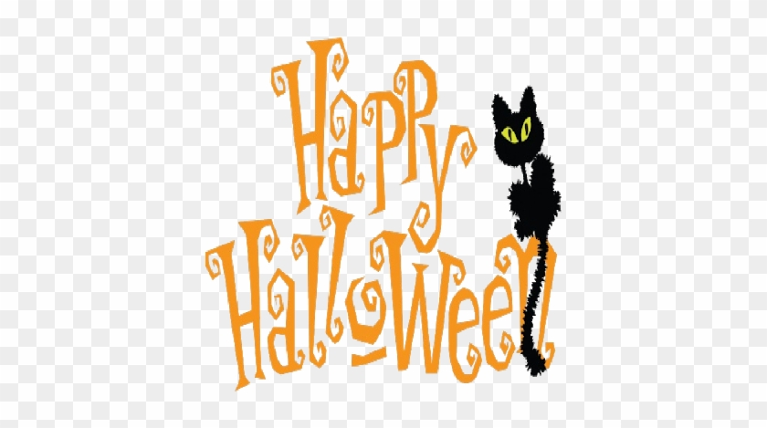 Halloween Cartoon Clipart - Cute Happy Halloween Clipart #356909