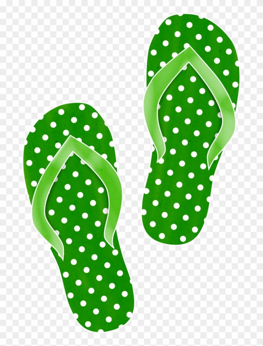 Ladylony Альбом «скрап-наборы / Waves Of Summer» На - Flip-flops #357165