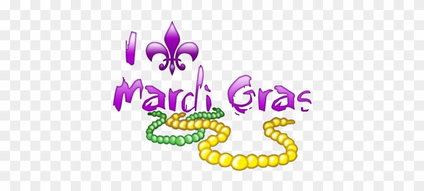 I Fleur De Lis Mardi Gras