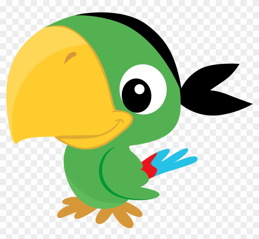 Inpgzazltq2zn - Parrot Pirate Clipart #358122