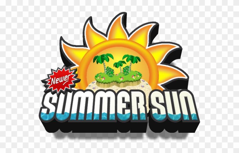 Newer Summer Sun Logo New Super Mario Bros Free Transparent
