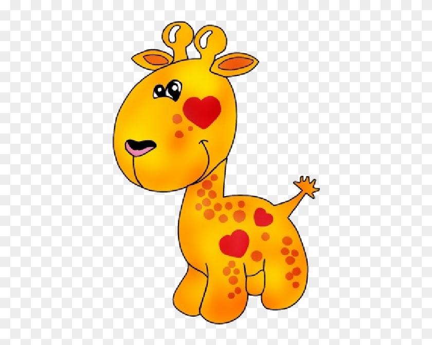 Giraffe Cartoon Animal Images - Dinosaur Cartoon Vector #358457