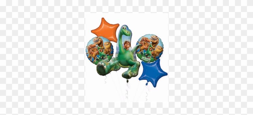 The Good Dinosaur Balloon Bouquet - Good Dinosaur Balloon Bouquet - Party Supplies #358872