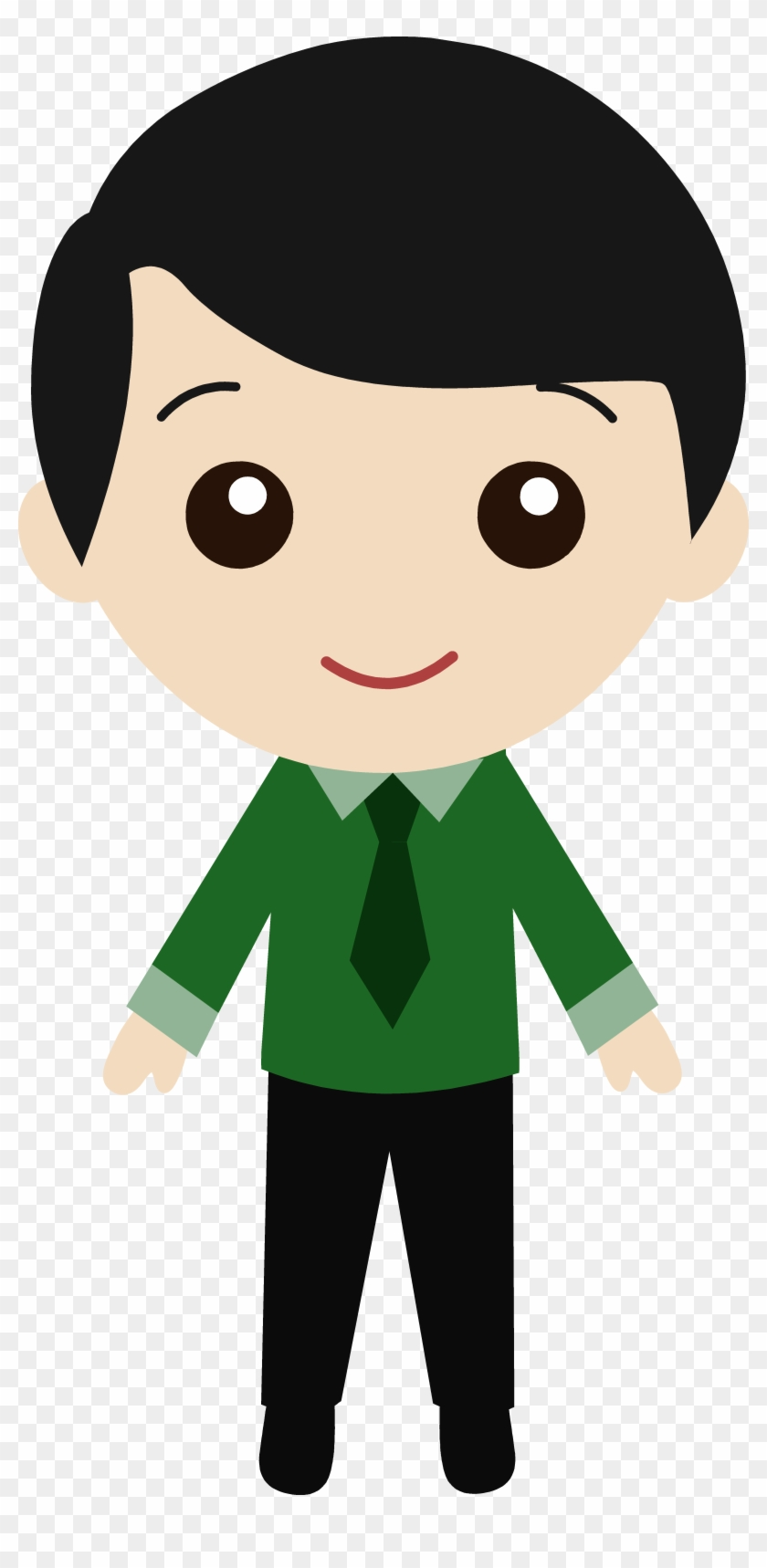 Asians Clipart Cute Cartoon Boy With Black Hair Free Transparent Png Clipart Images Download