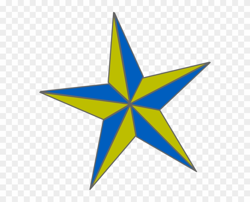Blue And Gold Star #359059