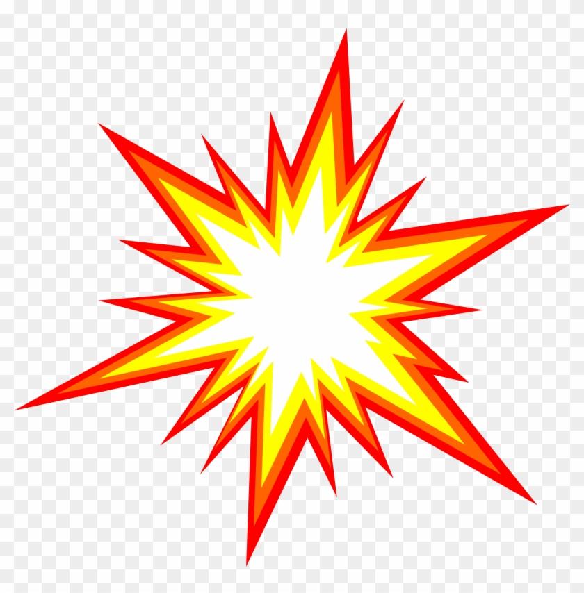 Clipart Lovely Design Starburst Images 6 Explosion - Star Burst #359222