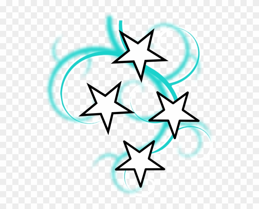 Swirl Of Stars Clipart #359221
