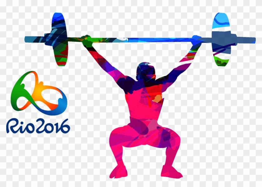 2016 Summer Olympics Rio De Janeiro 2012 Summer Olympics - Weight Lifting Silhouette Png #359708