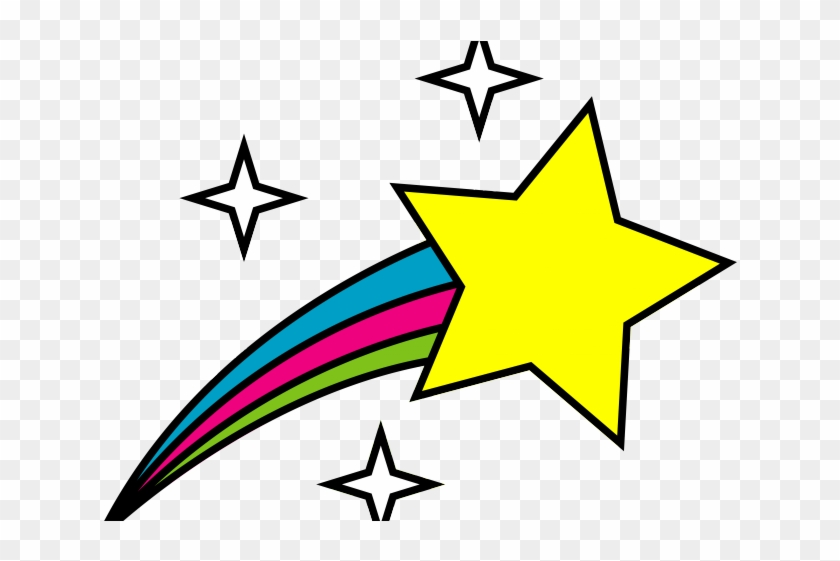 All Star Clipart - Shooting Star Clip Art #359872
