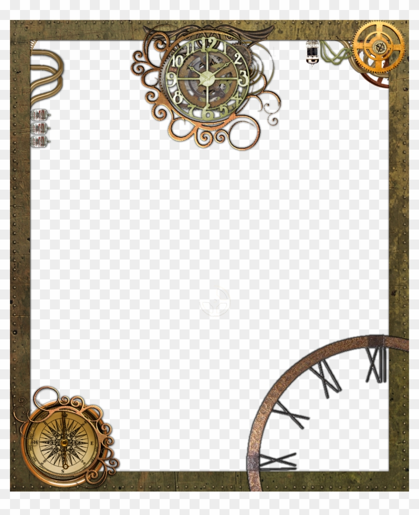 Steampunk Frame Png Transparent - Steampunk Photo Frame Png - Free ...