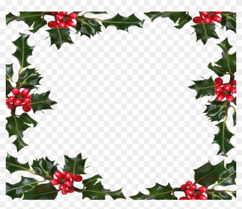 Christmas Graphics Transparent.Free Christmas Holly Transparent Background Holiday Border