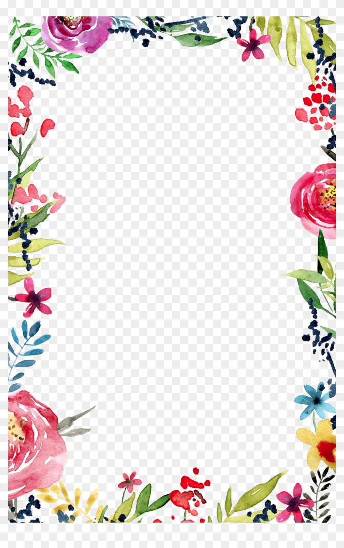 frame templates free flower border transparent background free