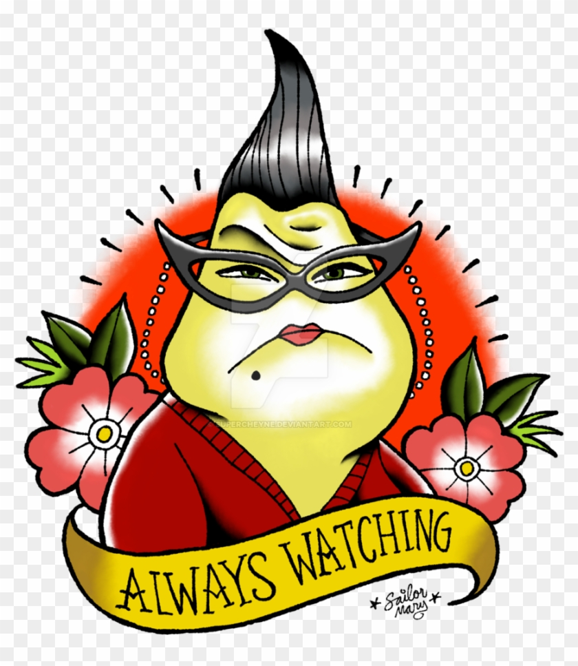 Roz Boo Monsters Inc Roz Monsters Inc Meme Free Transparent Png Clipart Images Download