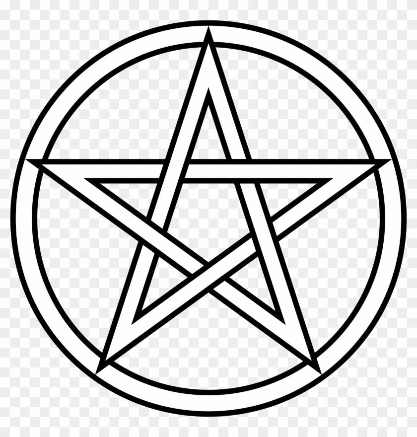 The Pentacle - White Pentagram Png #360539