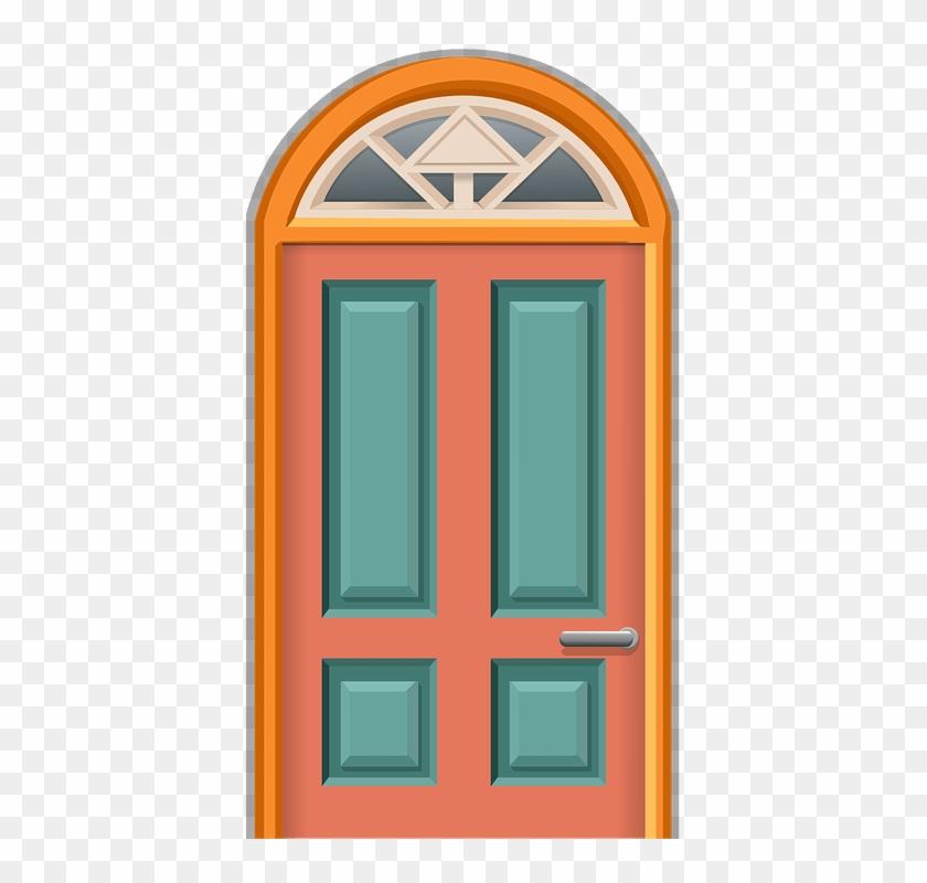 Móveis E Objetos Da Casa - Home Door Clipart #360834