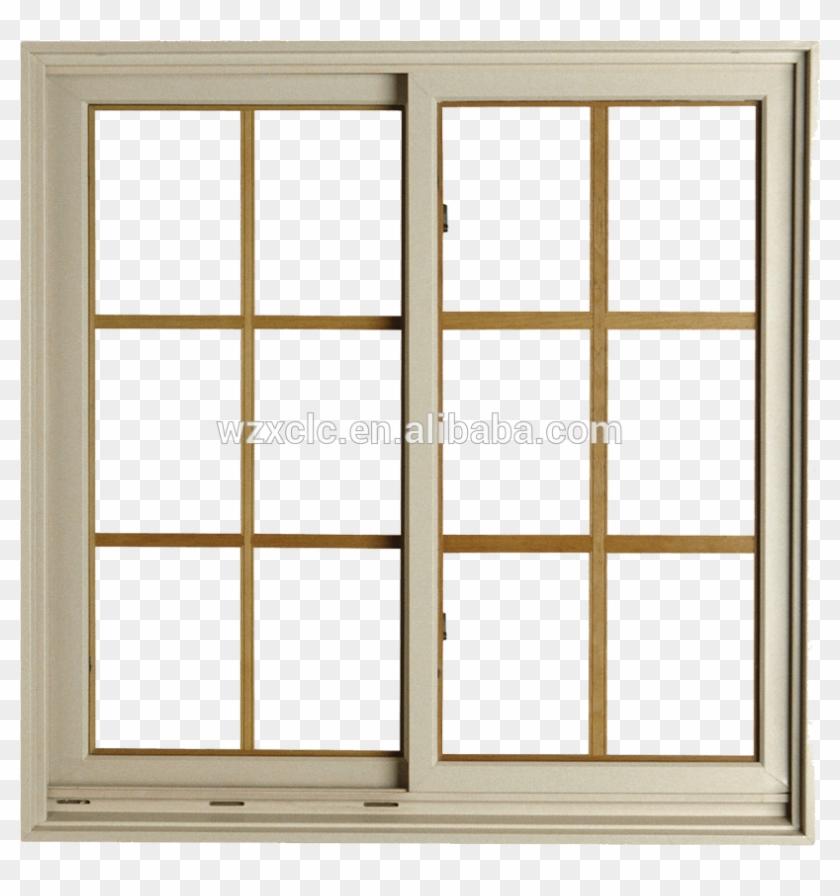 Doble Ventana De Cristal Templado Diseño De Rejas Para - Modern Sliding Windows Design #360974