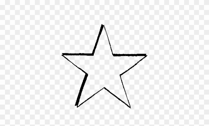 Star Line Drawing - Line Art #361182