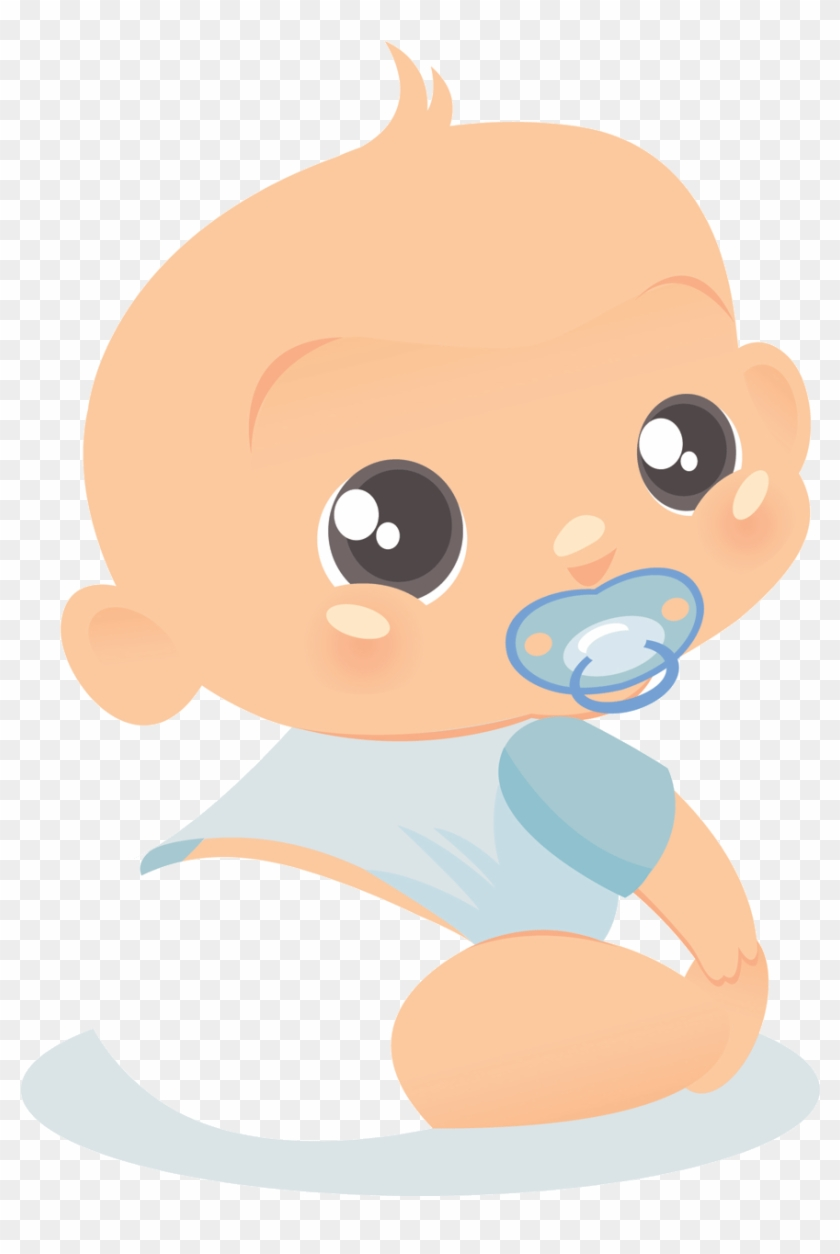 Cute And Funny Baby Boy Clip Art Images On A Transparent ...