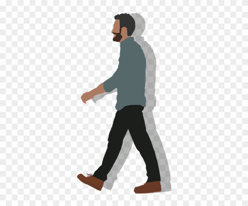 Cartoon People Walking Cartoon Man Walking Png Free Transparent Png Clipart Images Download
