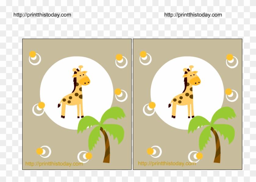 Jungle Baby Shower Printables #361323