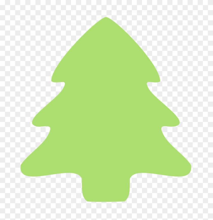 Christmas ~ Christmas Tree Clip Art Simple Emoji Copy - Christmas Tree Border Green #361918