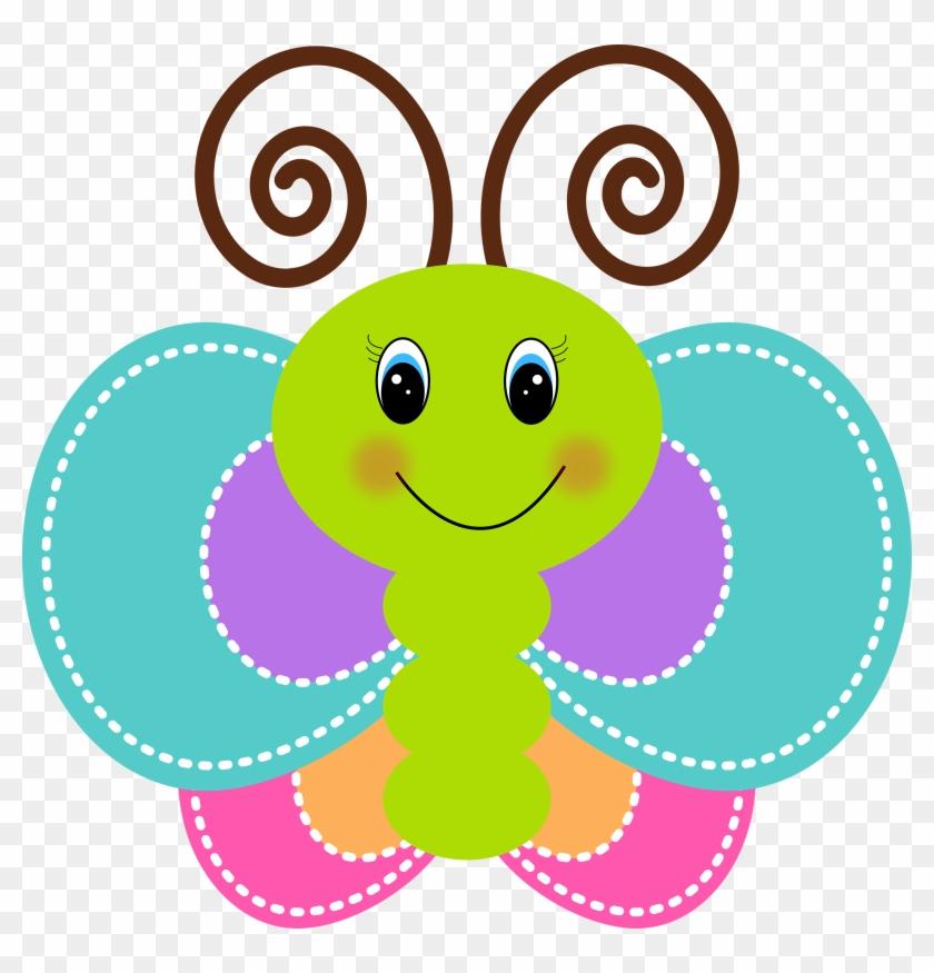 Hd Clipart Clip Art - Butterfly Cute Clipart #362093