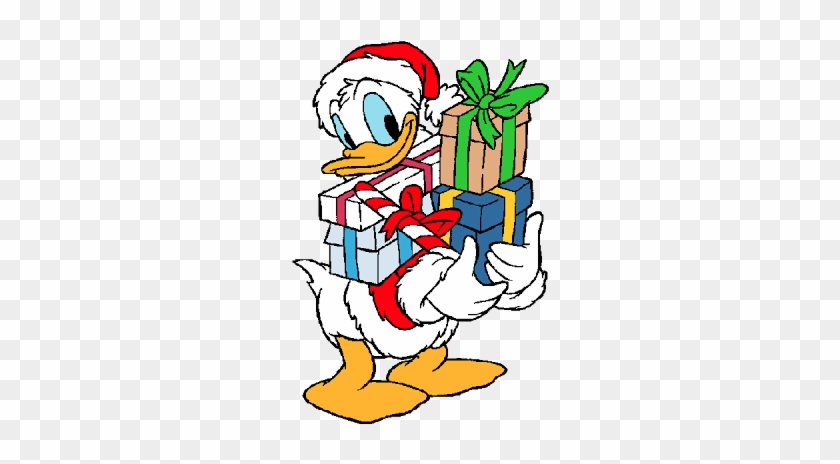 disney xmas characters donald duck christmas clipart 362334 - Donald Duck Christmas