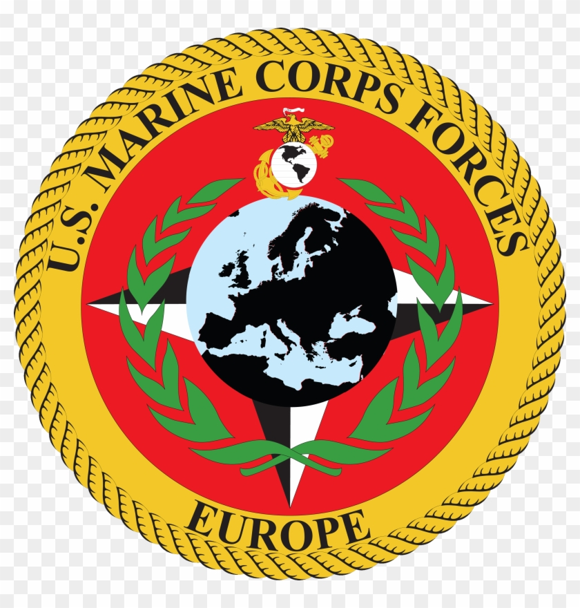 Seal Of United States Marine Corps Forces, Europe - Federation Of Young European Greens #362423
