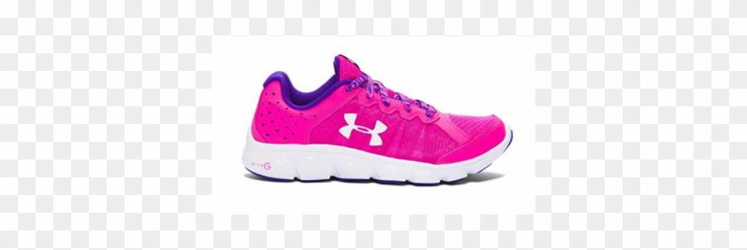 Under Armour Girls Assert 6 Pink Shoe - Under Armour Micro G Assert 6 Girls' Running Shoes #362747