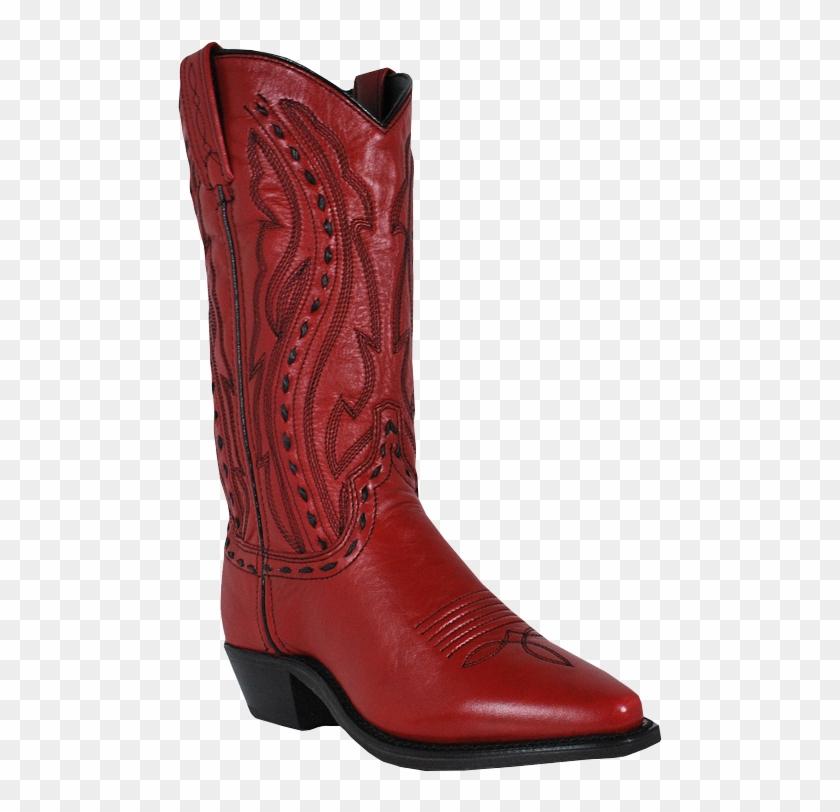 Women's Abilene Western Boot - Abilene Boots Ladies Red Cowhide Cowboy Western Usa #362769