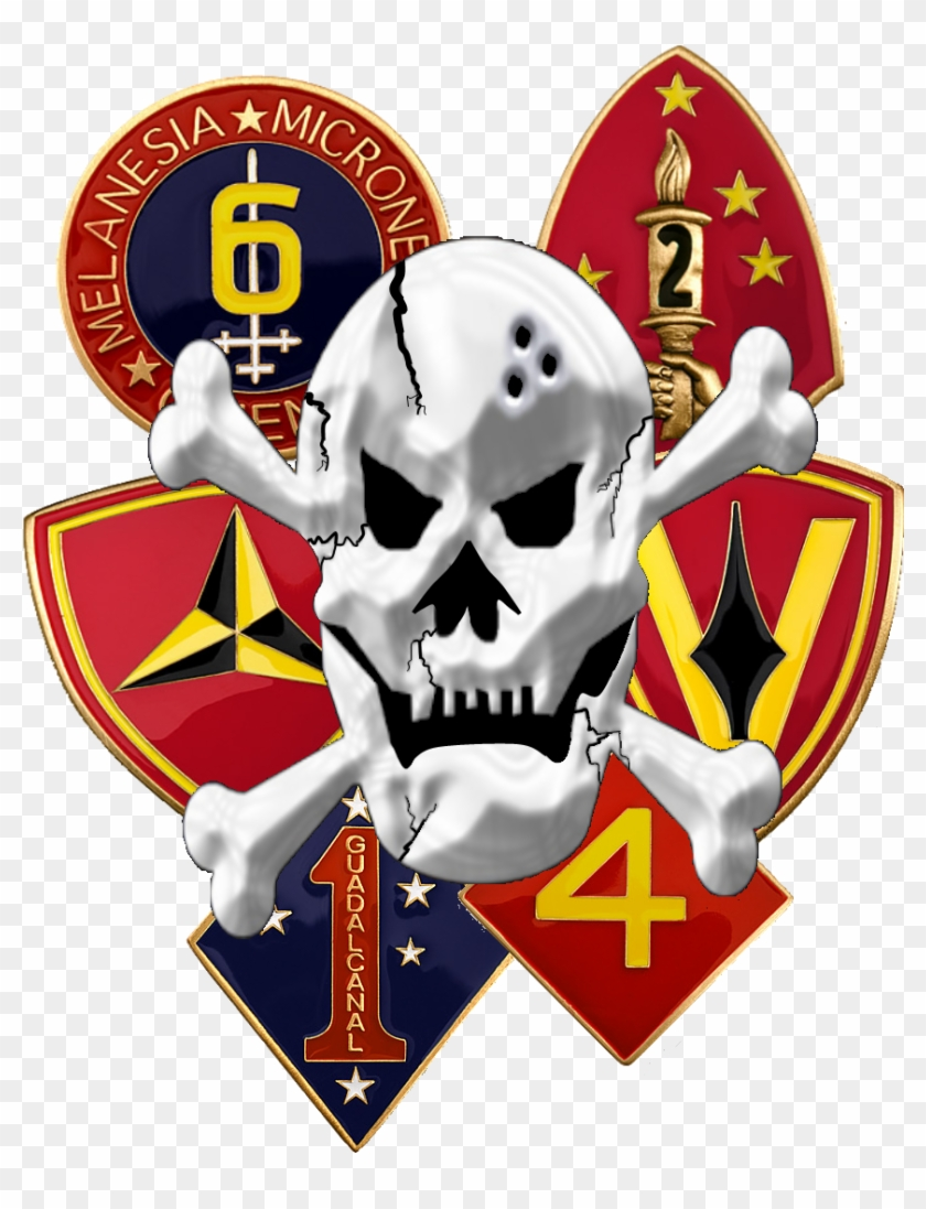 United States Marine Corps Reconnaissance Battalions - 2nd Marine Division Mousepad #362959